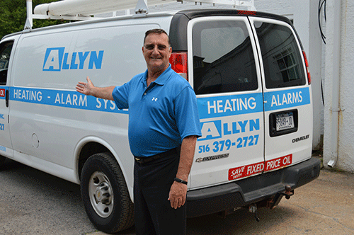 Raymond Petroro of Allyn Oil Company picture from 2015