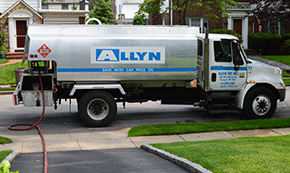 Allyn Oil Services oil tanker | North Merrick Emergency Oil Delivery
